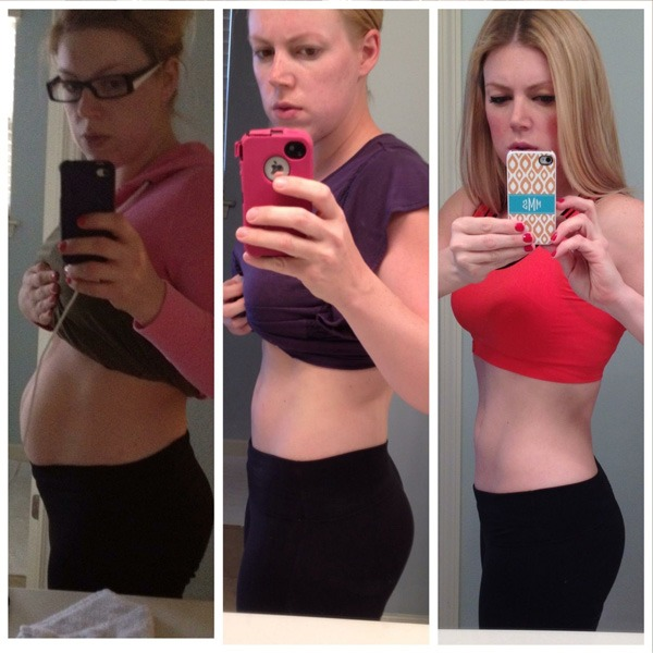 Marietta McClure Lost 50 lbs in 9 months post-partum