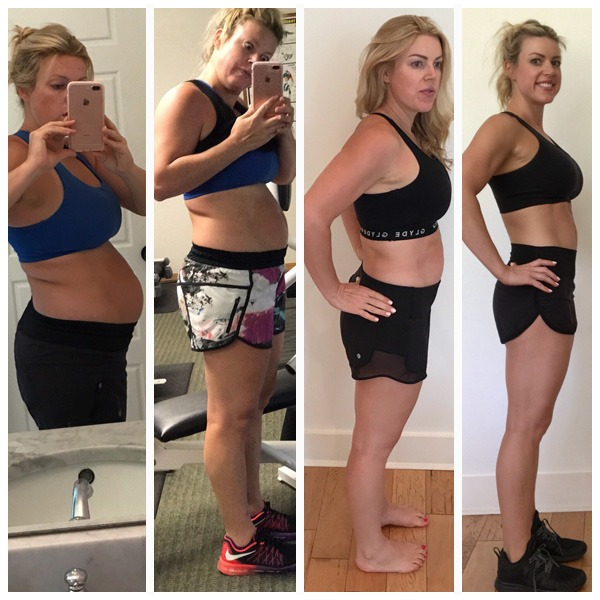 Marietta McClure Lost 50 lbs in 5 months post-partum